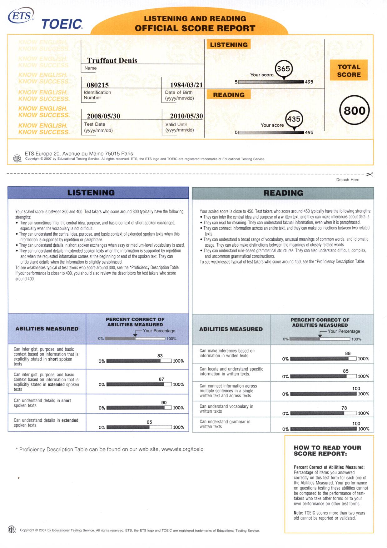 denis truffaut certifications scrum master ceseo php mysql html. Black Bedroom Furniture Sets. Home Design Ideas